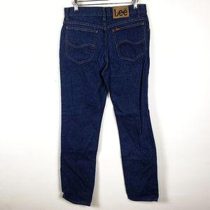 Lee Jeans - Lee | Dark Wash Blue Work Jeans Mens 32x32 GUC